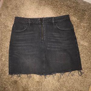 PACSUN black denim skirt